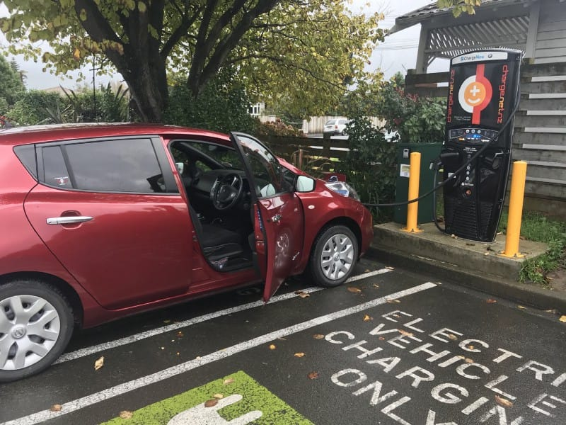 The fast charger at New World in Otaki